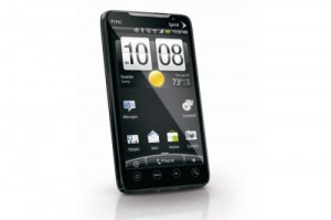 HTC EVO Android 3.0 Phone