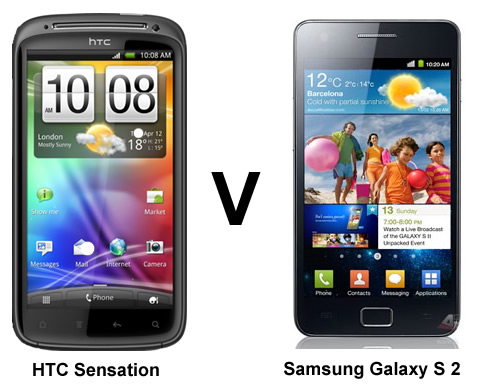 Comparison Between Dual Core Flagships Galaxy S2 and HTC ...