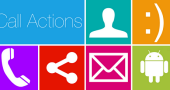 call actions screen