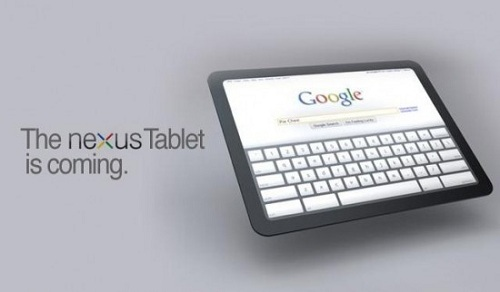 Google Nexus Tablet new 550x322 Nexus Tablet Or Asus Memo 370t Which Would You Prefer?
