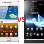 Comparison Between Sony Xperia S And Galaxy S2