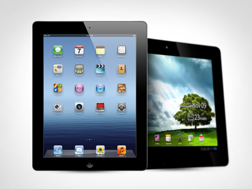 new ipad vs asus transformer prime Asus Transformer Prime TF700T Vs. IPad 3: Comparison Between Best Tablets