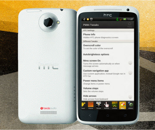 Update HTC One X With Charmeleon Custom ROM Firmware [How To