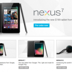 Pre-order Google Nexus 7 At Google Play Store And Retail Store