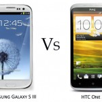 Comparison Between Samsung Galaxy SIII & HTC One X