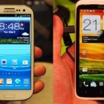 Samsung S3 VS HTC Galaxy One X: The Ultimate War of High End Android Smartphone