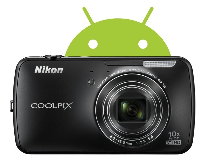 Nikon Coolpix S800C Camera Nikon Introduces the Android Powered Coolpix S800C Camera