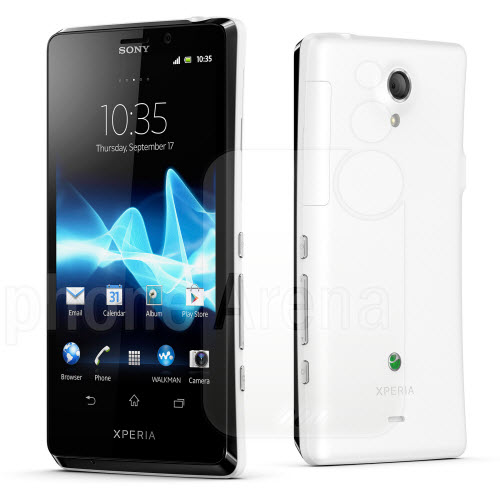 Sony Xperia T SONY Introduces Three New Android Smartphones : Xperia T, Xperia V & Xperia J
