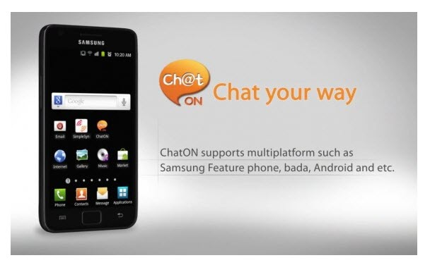 Samsung Provides ChatONV app which Supports Voice Calling ...