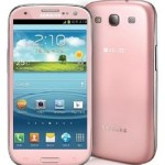 Pink Colored Samsung Galaxy S3 To Arrive Soon In Korean Markets