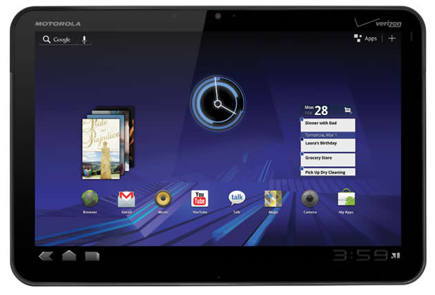 Motorola Xoom Update Motorola Xoom with Google Nexus 7 Styled Firmware [How to]