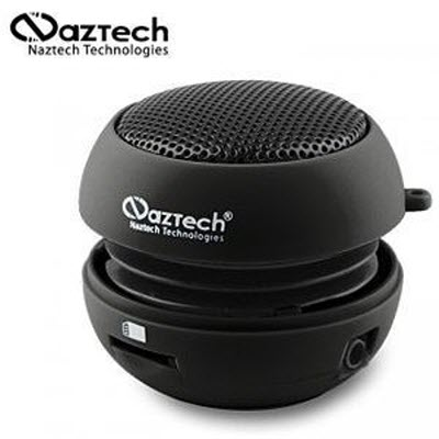 Naztech black Naztech N15: A Mini Boom Speaker