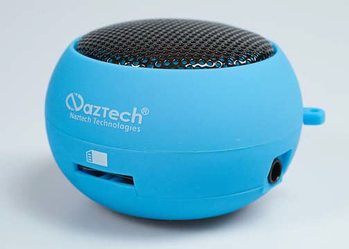 Naztech blue Naztech N15: A Mini Boom Speaker
