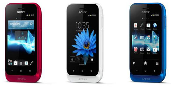 Xperia tipo and tipo dual New Unlocked Xperia Phones on Sale in the US : Xperia acro S, miro, tipo and tipo dual