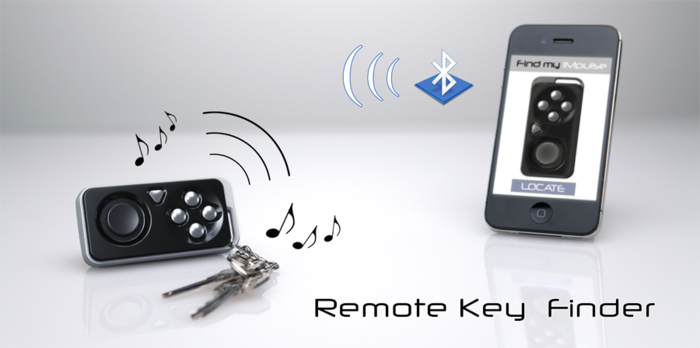 iMpulse Key finder iMpulse : Smallest Wireless Controller for Mobile Devices