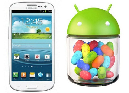 jellybean update on Galaxy s3 Android Jelly Bean Now Running In Samsung Galaxy S3 At IFA, Berlin 2012