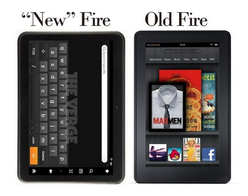 leaked kindle Amazon Preparing To Launch Two 7 inch Kindle Fire Models  The Next Week