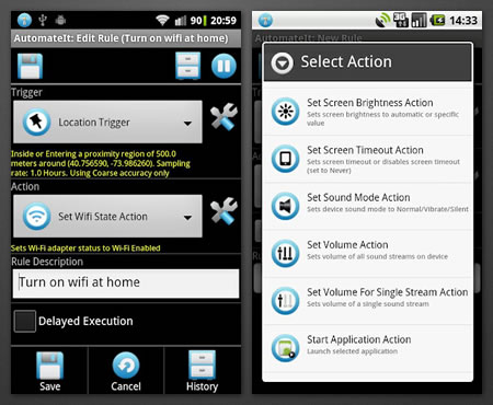 AutomateIt 1 AutomateIt : An app Automatically Performing Various Tasks in Your Android Phone