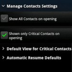CritiCall : An Android App Which Allows Critical Contacts To Ring Even in Silent Mode