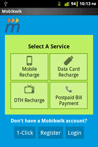 Mobile and DTH Recharge app Recharge Your Mobile and DTH Via Android Phone