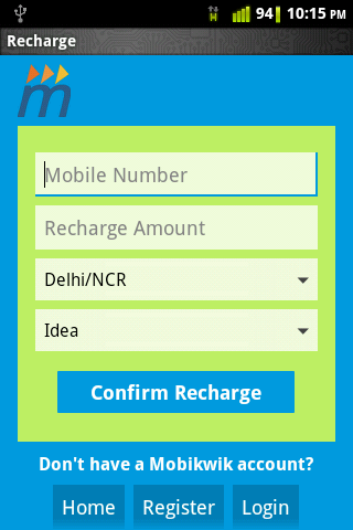 Mobile and DTH Recharge app3 Recharge Your Mobile and DTH Via Android Phone