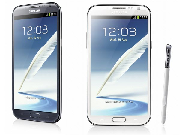 Samsung Galaxy Note II AT&T Announced Three 4G LTE Android Smartphones & One 4G LTE Tablet From Samsung   Specs and Features