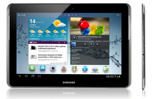 Samsung Galaxy Tab 2 10.1 AT&T Announced Three 4G LTE Android Smartphones & One 4G LTE Tablet From Samsung   Specs and Features