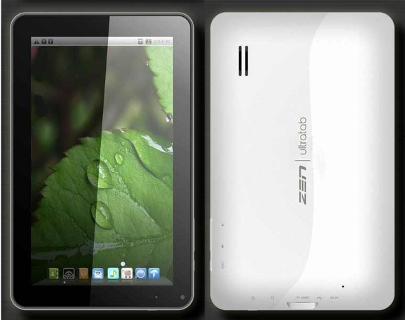 Zen UltraTab A900 Zen Launches its Zen Ultra Tab A900 ICS Tablet in India : Specs, Price and Availability