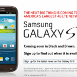 Samsung Galaxy S3 To Be Soon Updated In Black & Brown Color Models At Verizon