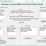 How to Root HTC Desire X with All-In-One Toolkit V1.1 (One Click Process)