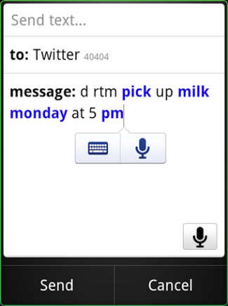 Google Voice Recognition Service 2 Google Voice Recognition Service for Android Phone