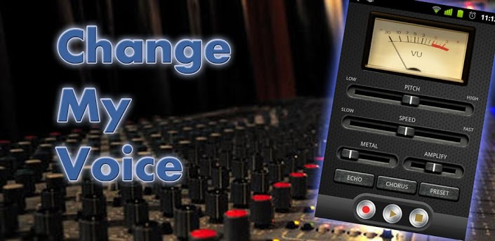 Change My Voice app Change My Voice : An App to Change the Recorded Voice on Android Smartphone