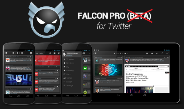 Falcon Pro Twitter app1 Falcon Pro : A Twitter App Available in Google Play Store