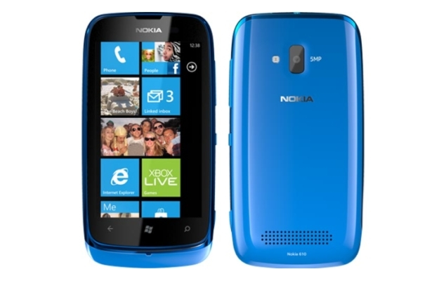 Nokia Lumia 610 to Window's Phone 7.8