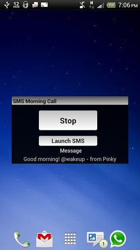 SMSMorningCall SMS Morning Call App Lets Your Friends to Wake You Just Through an SMS