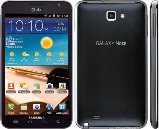 Samsung Galaxy Note-I717