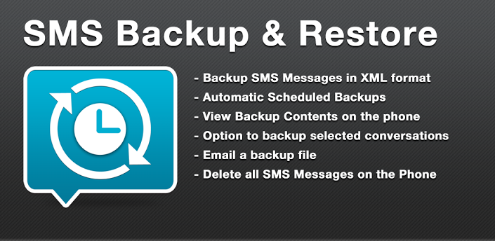 Backup and Restore SMS