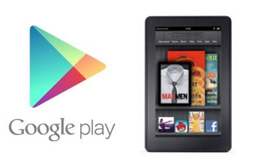 Google Play Store in Kindle Fire HD