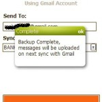 SMS SyncUp : A tool to Upload/Backup your SMS to Gmail