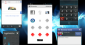 CM 9,10, Paranoid Android 2.55 Receive Xperia Small Apps
