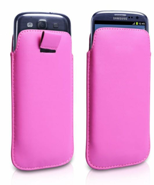Galaxy S3 Leather Pouch