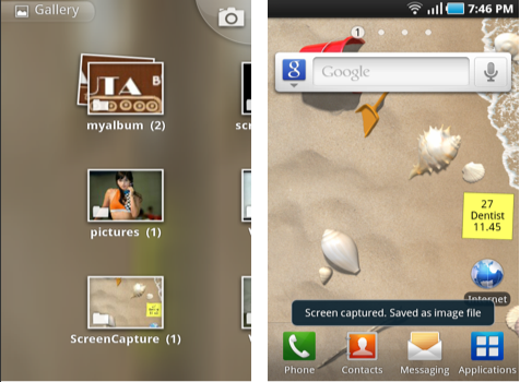 How to take Screenshot on Samsung Galaxy S Easy Tips for you to Take Screenshot in Samsung Galaxy S Devices