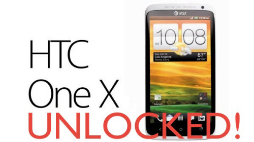 Unlock the Bootloader in HTC One X
