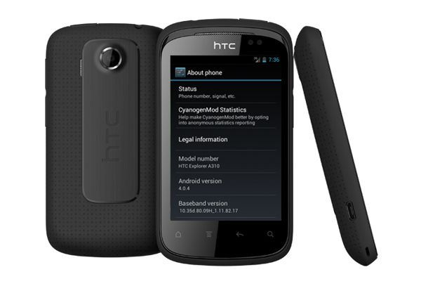 htc explorer cm9 How to Upgrade Firmware Version of Android 2.3.5 to 4.0.4 in HTC Explorer
