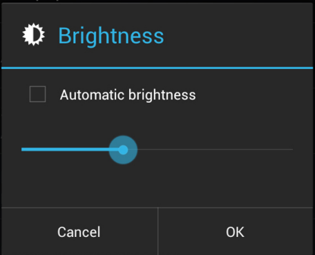Change Your Screen Brightness level