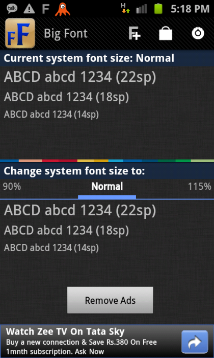 How to Enlarge Fonts on your Android Phone