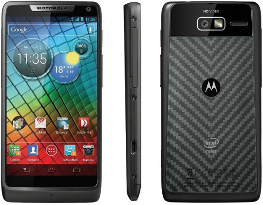 Motorola Razr i Best Android Phones for 2013