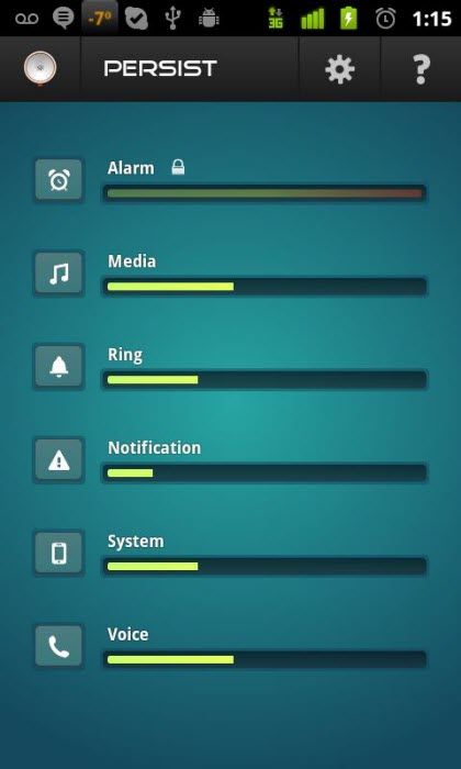 Setting individual volume levels for different alerts Top 10 Android Tips and Tricks