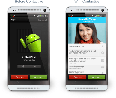 Contactive Android App